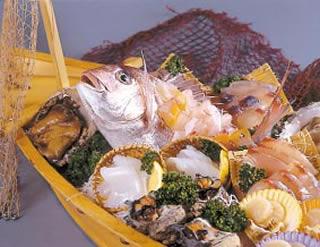 大漁船盛り料理 時価